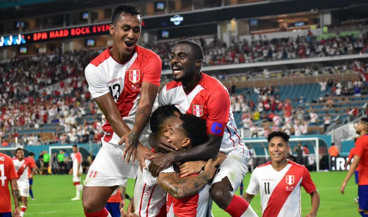 peru 3-0 chile amistoso estados unidos